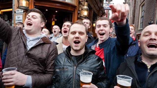 'Weren buitenlandse voetbalfans is optie'