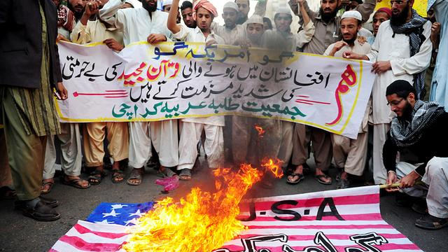 Weer anti-Amerikaans protest in Afghanistan