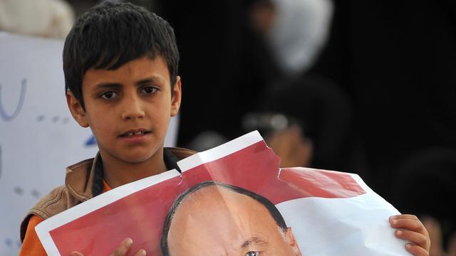 'Enige kandidaat Jemen kreeg 99,8 procent stemmen'