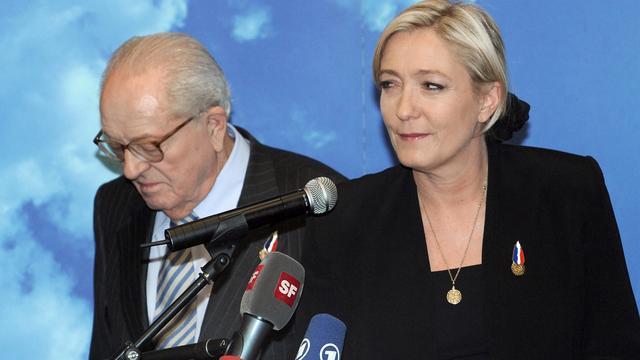 Campagne Marine Le Pen strandt