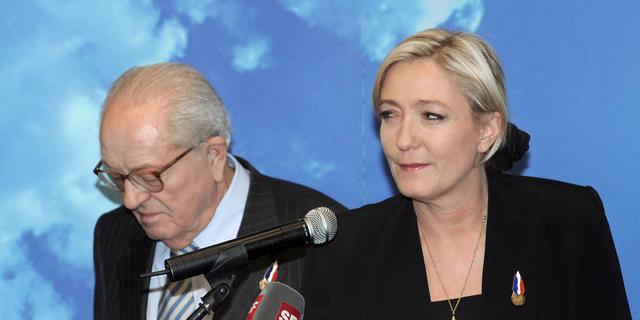 Marine Le Pen blokkeert deelname vader aan Franse verkiezingen
