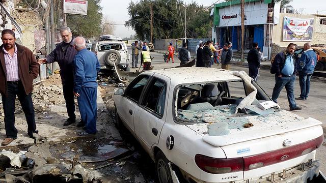 Tientallen doden door aanslaggolf Irak