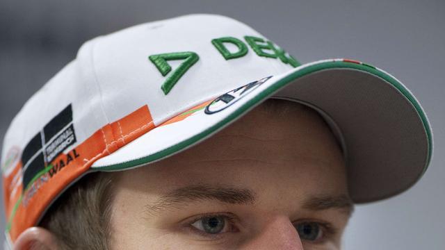 Hülkenberg snelste bij testsessie Formule 1 in Barcelona