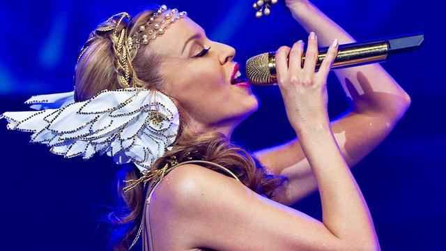 Kylie Minogue zingt voor koningin Elizabeth