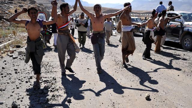 Muiterij bij luchtmacht in Jemen
