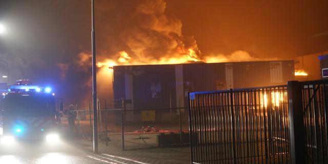 Brand in kringloopcentrum Groenlo