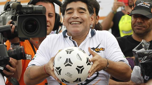 'Maradona stelt zich kandidaat als FIFA-voorzitter'