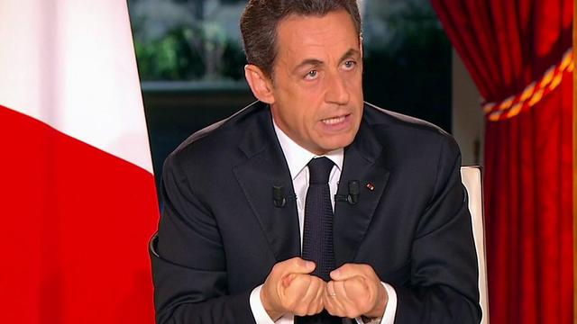 Sarkozy wil contactgroep rond Syrië