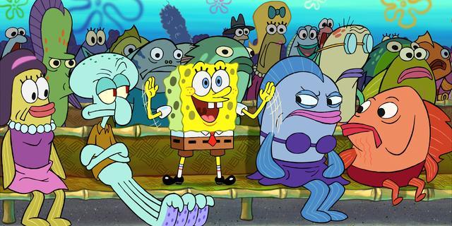 Spongebob krijgt tweede film