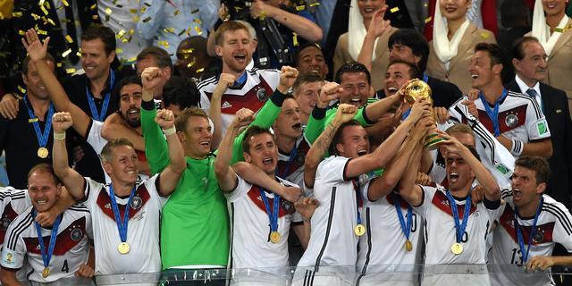 Wereldkampioen Duitsland dinsdag gehuldigd in Berlijn