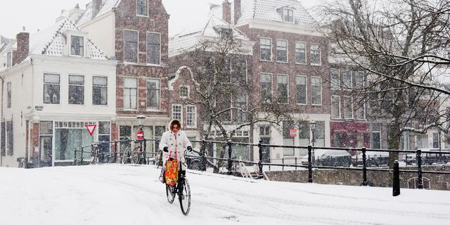Zaterdag kans op natte sneeuw in Nederland
