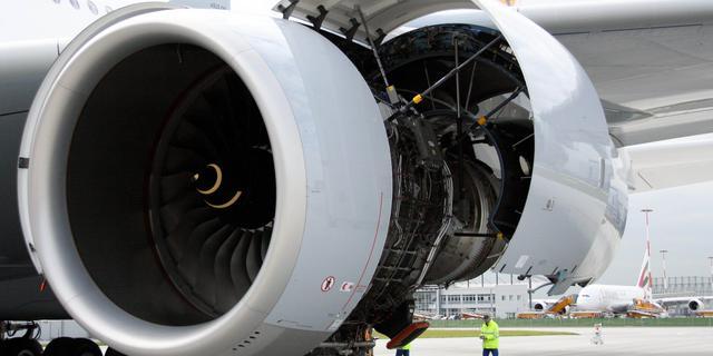 Rolls-Royce winstgevend met vliegtuigmotoren