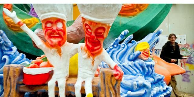 Kunde Maot'Ouwe motto voor carnaval 2017 in Kielegat