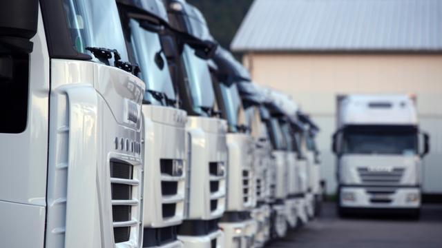 Acties bij Heisterkamp tegen buitenlandse vrachtwagenchauffeurs