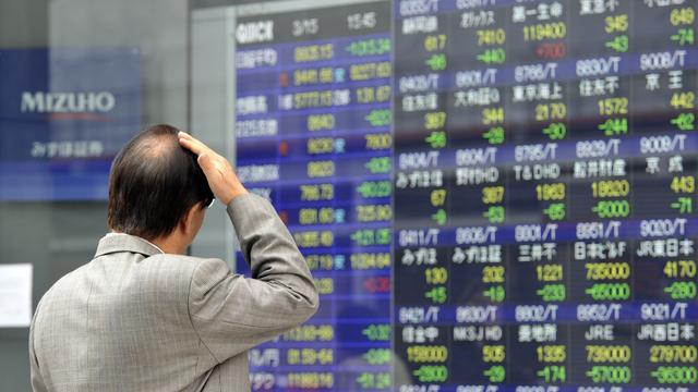 Eerste handelstekort Japan in 31 jaar