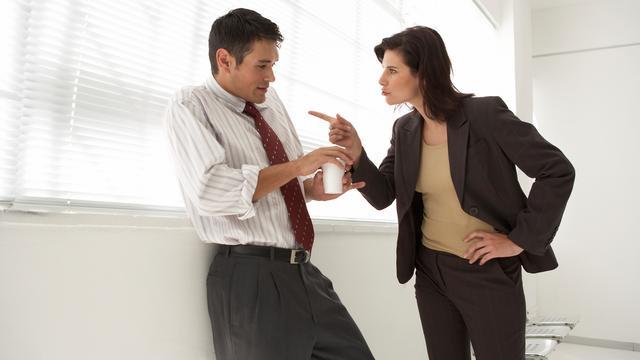 'Pestgedrag op kantoor kan leiden tot echtscheiding'