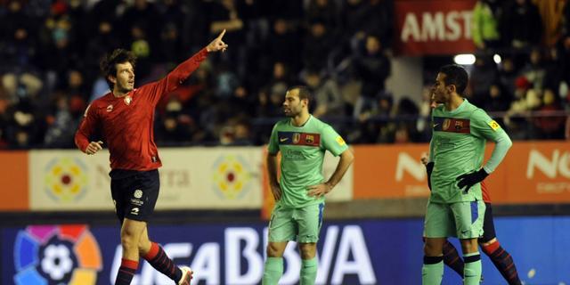 Prolongatie titel ver weg voor Barcelona na nederlaag