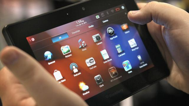 Software-update Blackberrytablet Playbook uitgesteld