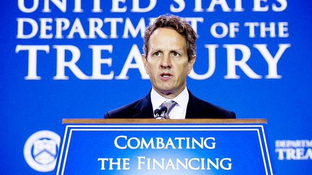 'Geithner wil groter Europees noodfonds'