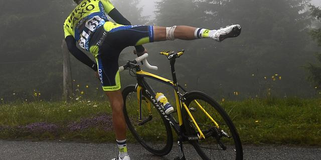 Fiets Contador in stukken op auto Belkin