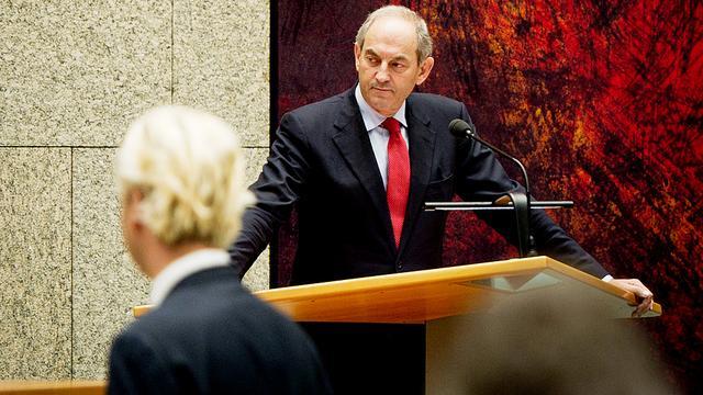 Rutte botst hard met Wilders