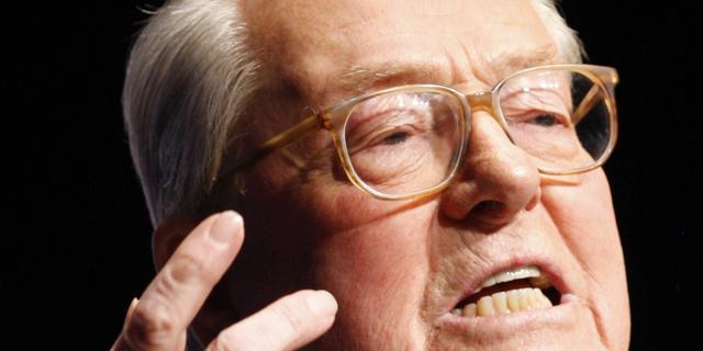 Jean-Marie le Pen mag niet meer spreken namens Front National