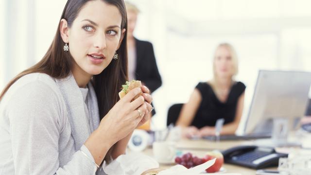 Derde werkende Britten slaat lunch vaak over