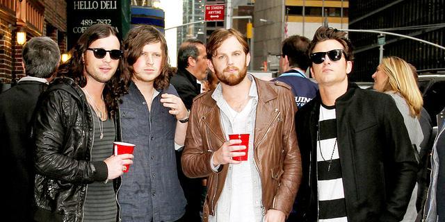 Kings of Leon treedt op bij MTV EMA's