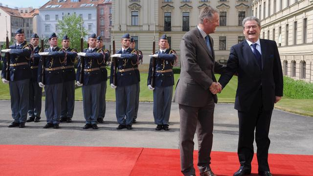 Steun EU voor Albanië