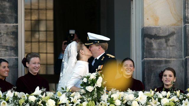 Kroonprinselijk paar tien jaar getrouwd