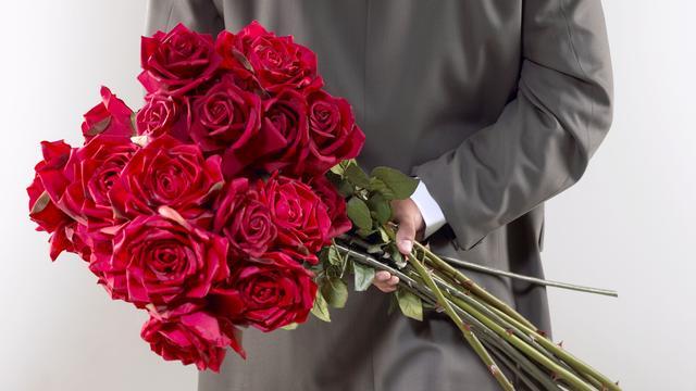 'Valentijn voor veel mannen verplichte kost'