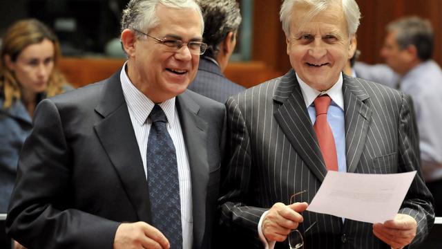 Bezuinigingsbegroting door parlement Athene