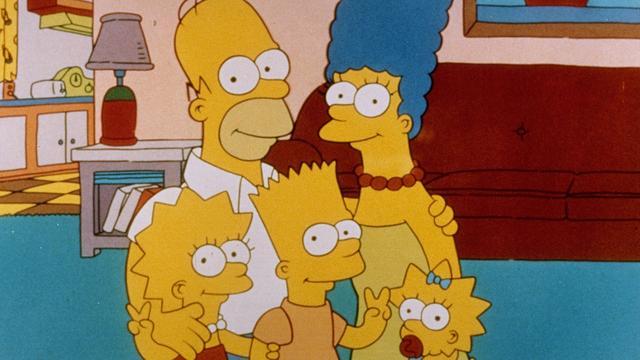 Clinton en Trump in The Simpsons