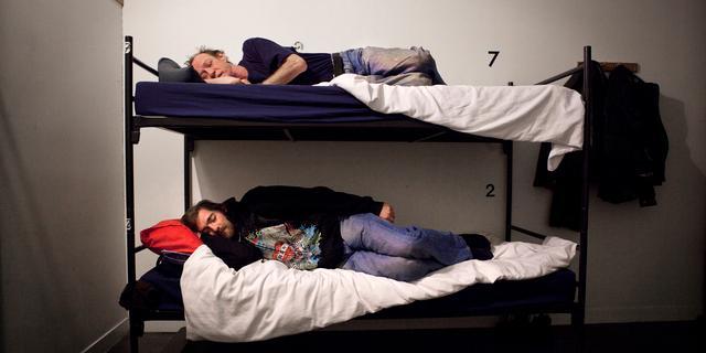Winteropvang voor daklozen door kouderegeling