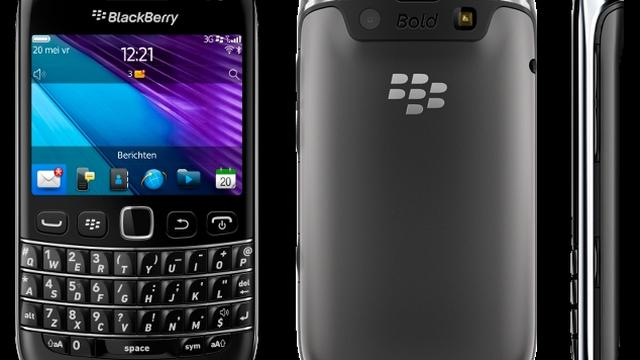 RIM lanceert Blackberry Bold 9790 in Nederland