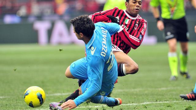 AC Milan niet langs Napoli, Stekelenburg wint ruim met Roma