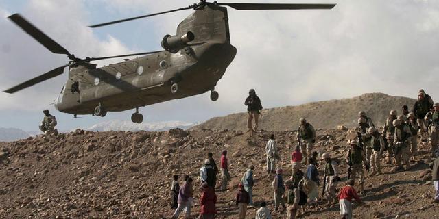 Amerikaanse Chinook niet in val gelokt