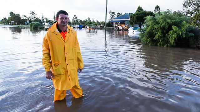 Grote evacuatie in oosten Australië