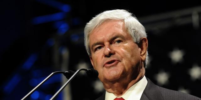 Newt Gingrich wil basis op de maan