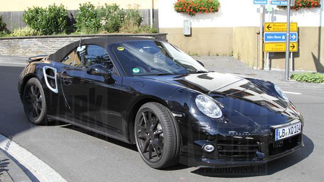 3 turbo's Porsche 911 Turbo