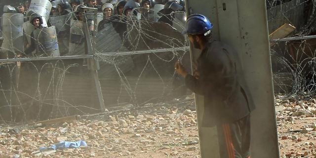Bestorming van Syrische ambassade in Caïro