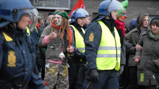 Arrestaties klimaattop 2009 waren illegaal