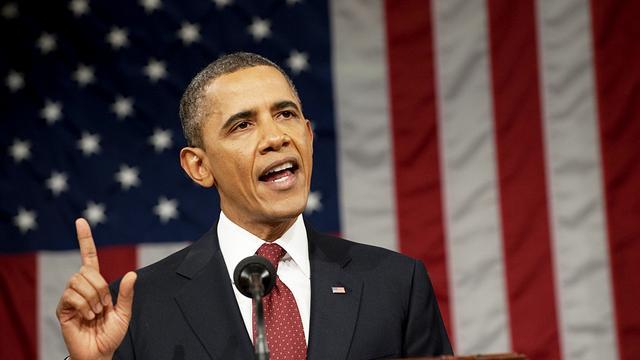 'Troonrede' Obama trekt minder kijkers