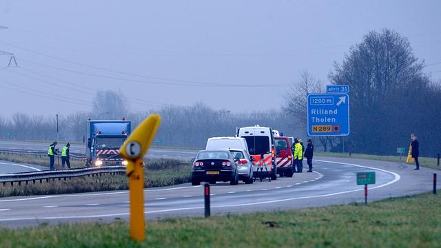 Politie voorkomt op A58 mogelijk zware overval