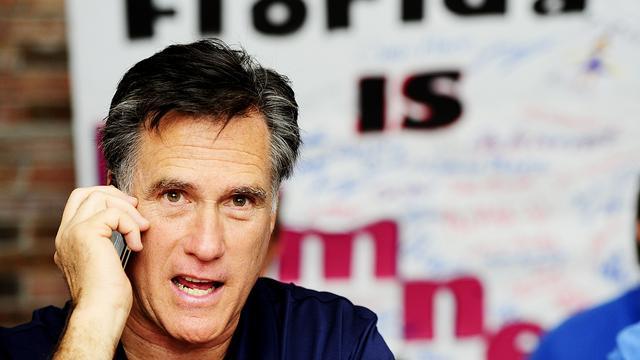 Romney daagt Obama uit na zege in Florida
