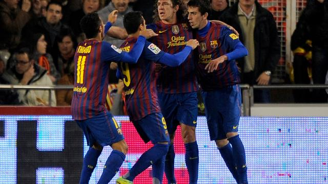 Goede uitgangspositie FC Barcelona in halve finale beker
