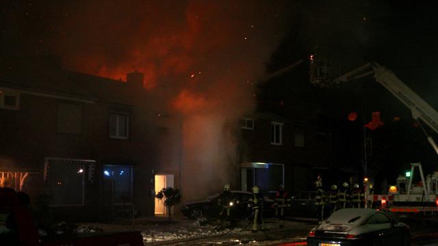 Evacuaties door schuurbrand in Stein