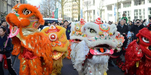Chinees Nieuwjaar ook begroet in Den Haag