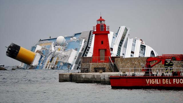 'Vermisten Costa Concordia dood'