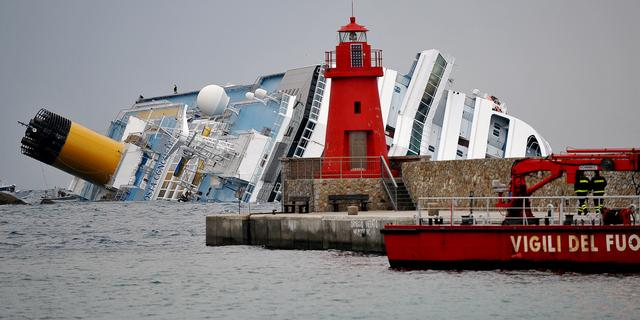 Zoektocht in cruiseschip weer onderbroken